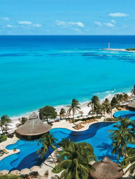 O Fiesta Americana Grand Coral Beach é um dos grandes resorts de Cancún, na Riviera Maia do México