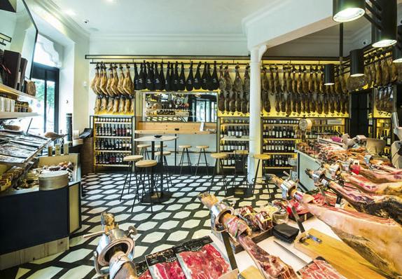 Reserva Ibérica: a loja de jamón mais fina da cidade
