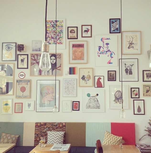 Café Cometa por dentro