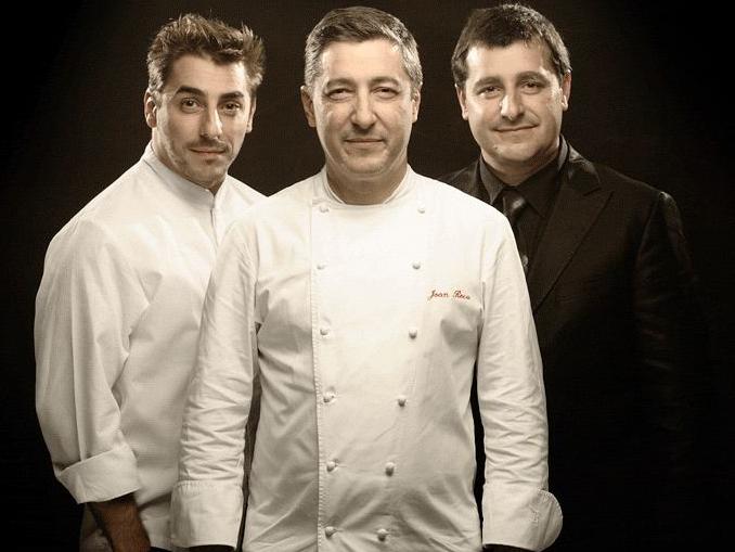 Jordi (o pâtissier), Joan (o chef) e Josep (o sommelier) Roca