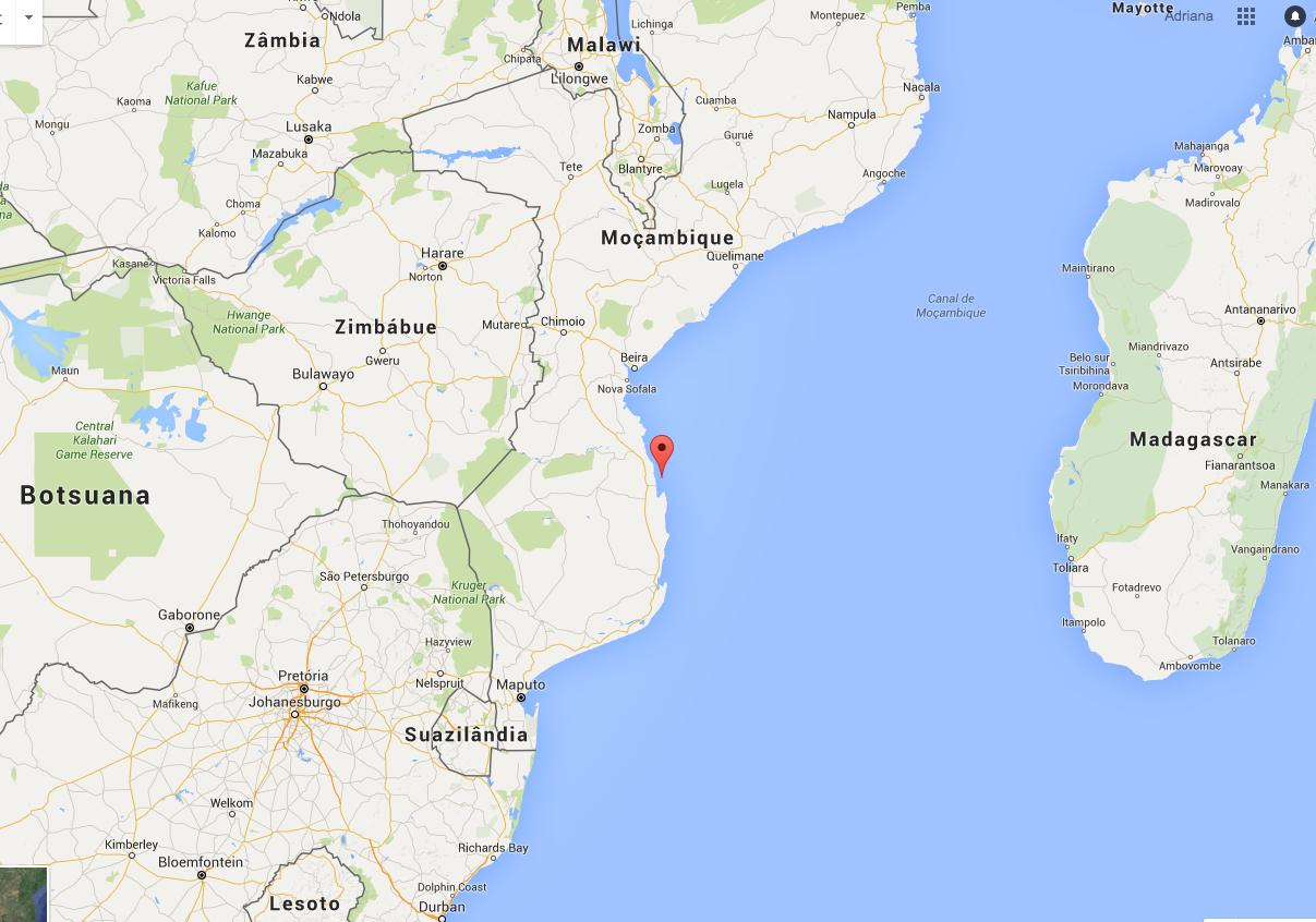 Apesar de remota, a ilha é de fácil acesso a partir de Johanesburgo, na África do Sul