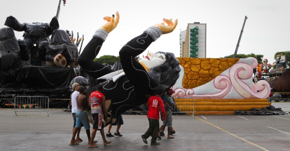 A banda Kiss é homenageada no Carnaval paulistano / Foto: Reprodução