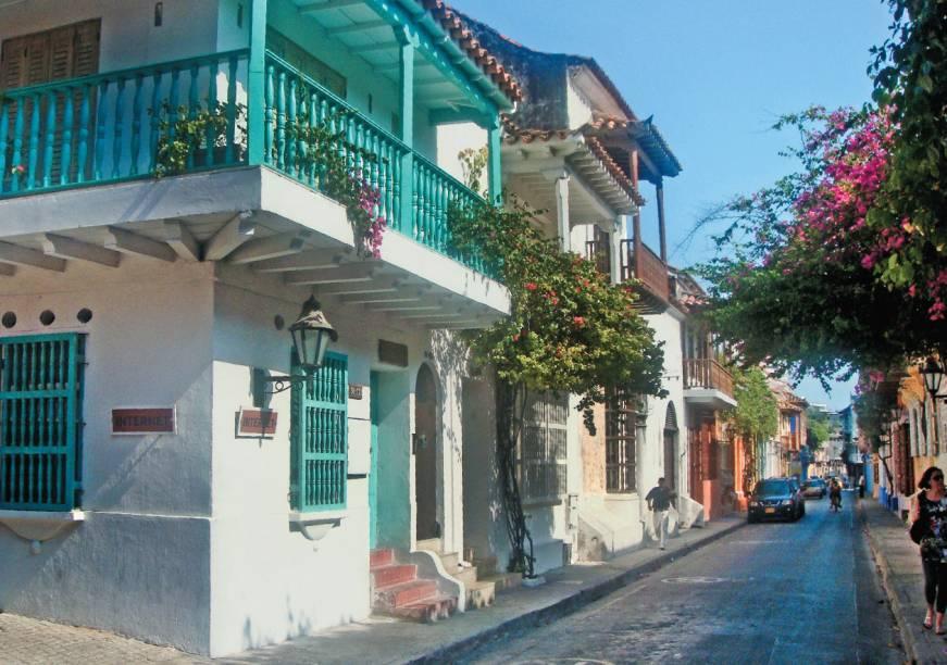 Cartagena e seus belos cenários, que inspiraram obras do escritor Gabriel García Márquez