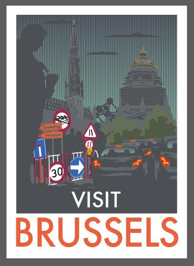 Cartaz Monk HF Bruxelas