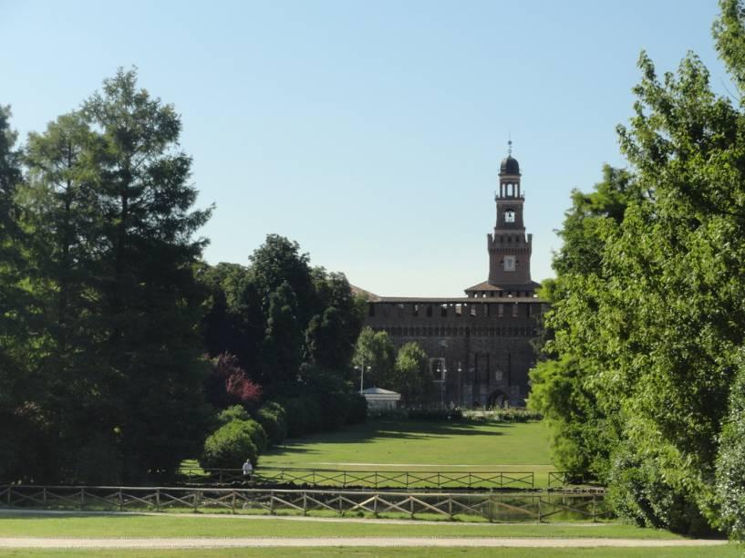 Castello Sforzesco, junto ao Parco Sempione