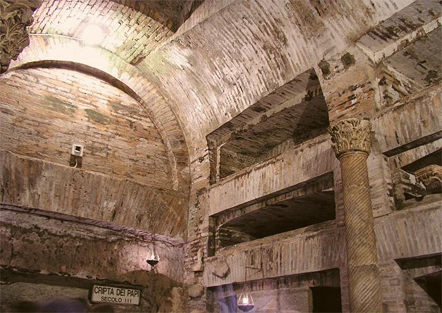 A cripta dos Papas (foto: Dnalor 01/Wikimedia commons/CC-BY-SA 3.0)