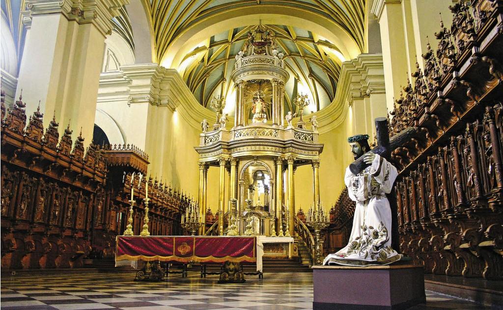 Interior da Catedral/ Foto: Divulgação