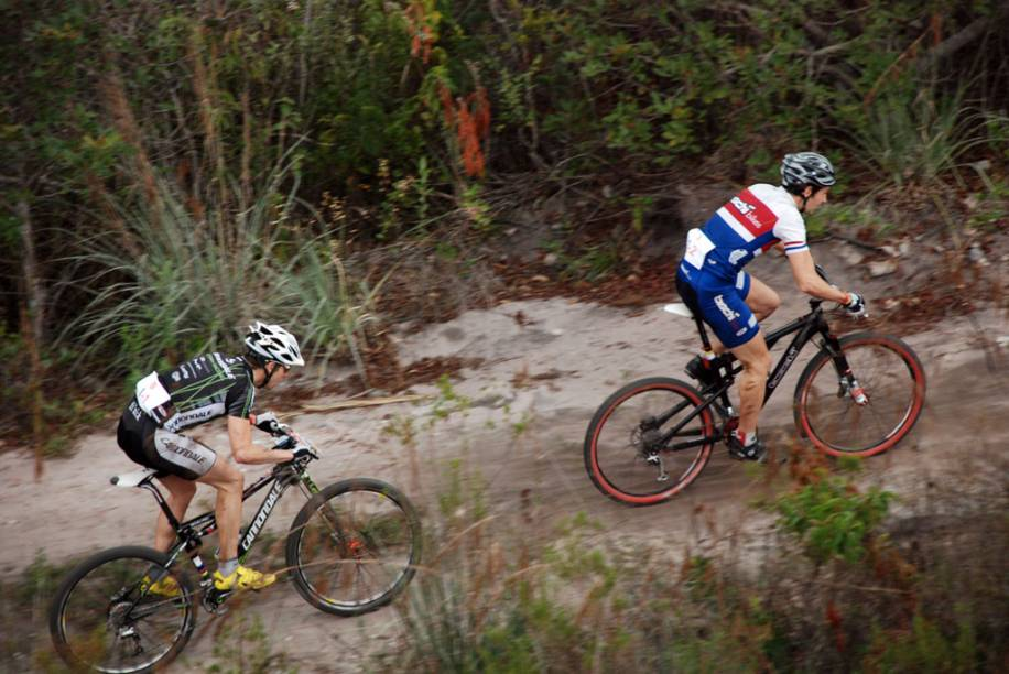 Competição de ciclismo no Parque Nacional da Chapada Diamantina