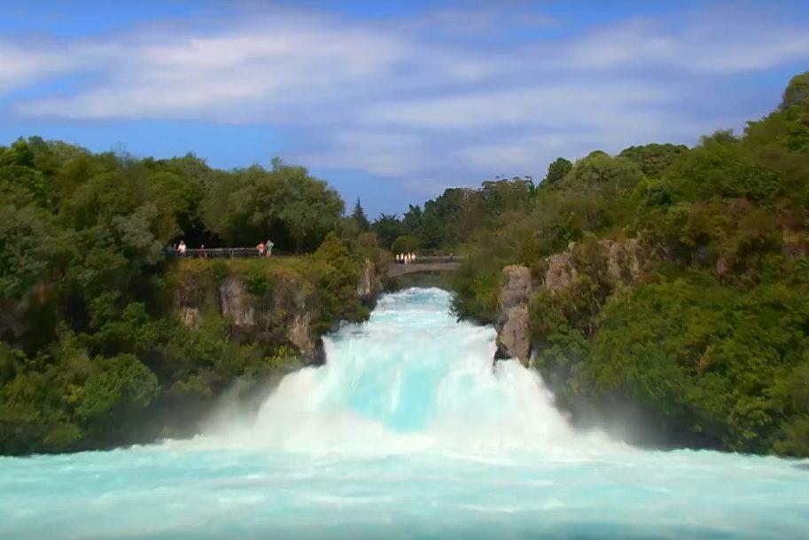 Cena da Nova Zelândia filme turismo oficial senhor dos aneis