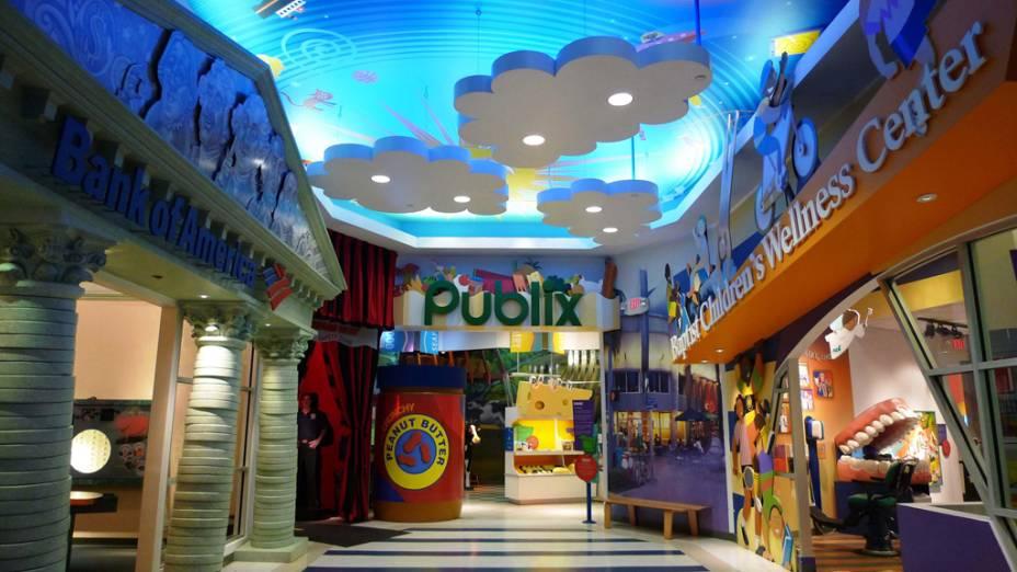 """O """"aprender brincando"""" impera nas galerias do Miami Childrens Museum"""