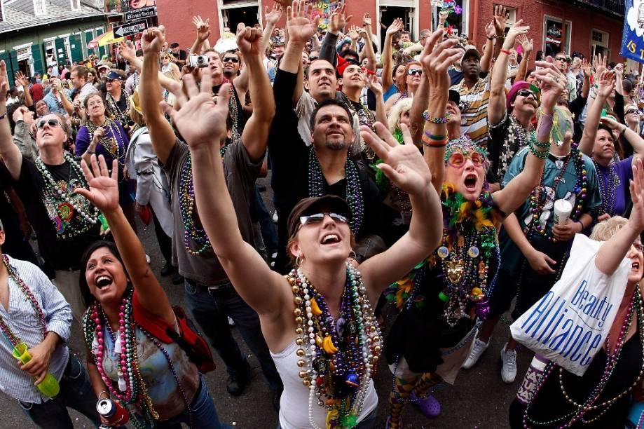 O mardi gras é o último dia do Carnaval