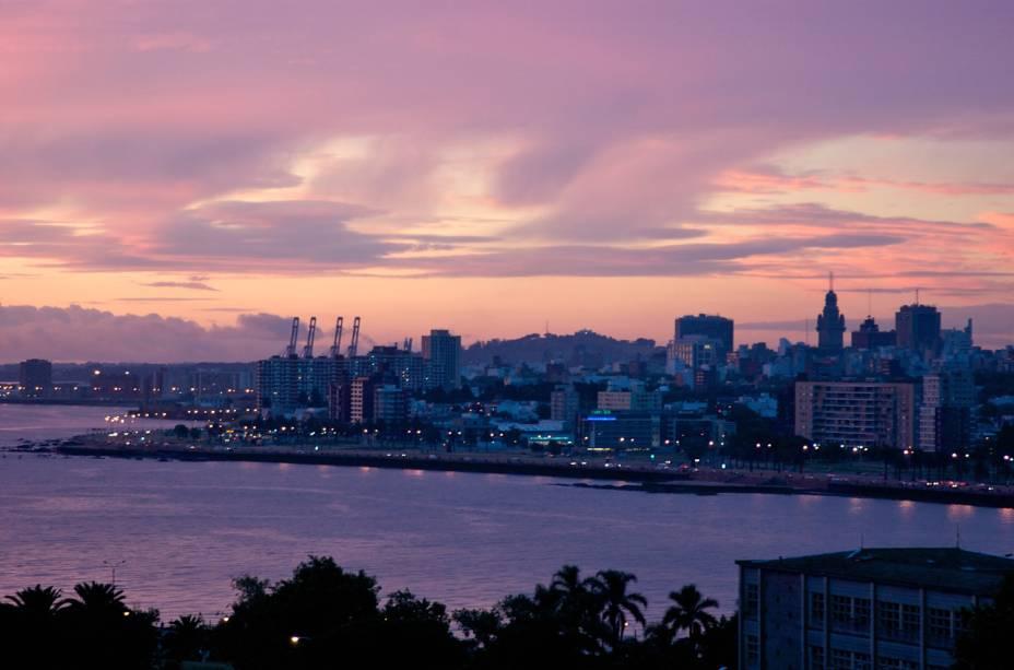 Ciudad Vieja (Cidade Velha) em Montevidéu, Uruguai