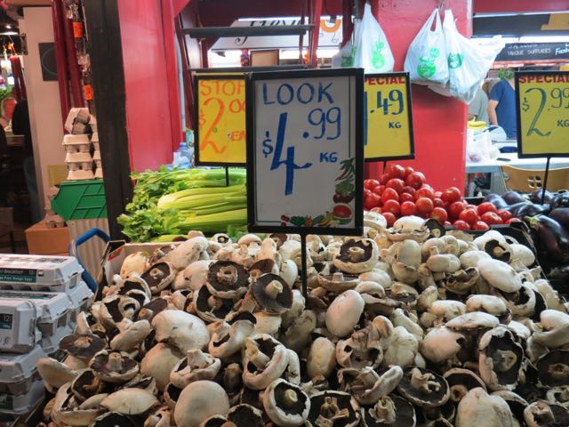Cogumelos incríveis no mercadão