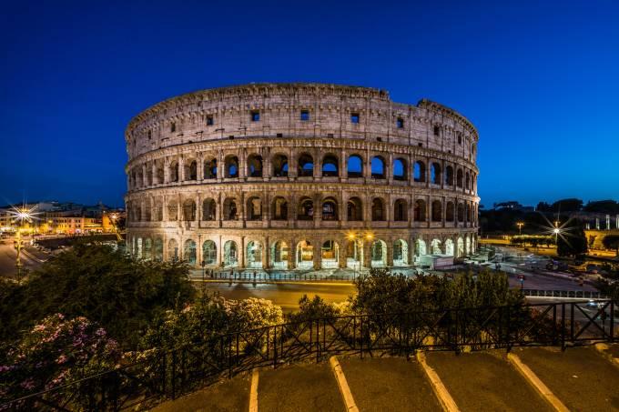 Coliseu em Roma – foto de junho de 2016 Flickr