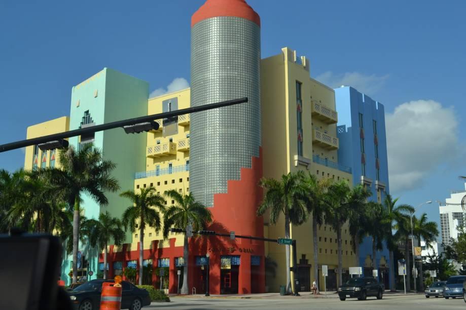 Restaurante China Grill, localizado na Washington Avenue, em Miami