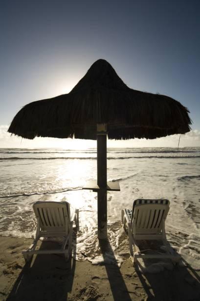 As praias de Comandatuba, Puxim e Oiticica quase sempre estão desertas