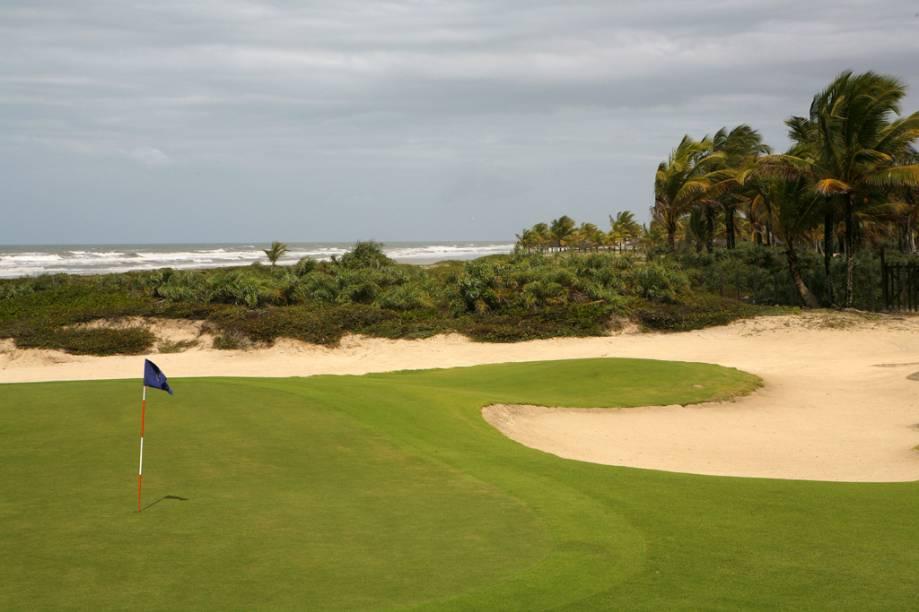 Campo de golfe do Hotel Transamérica Ilha de Comandatuba