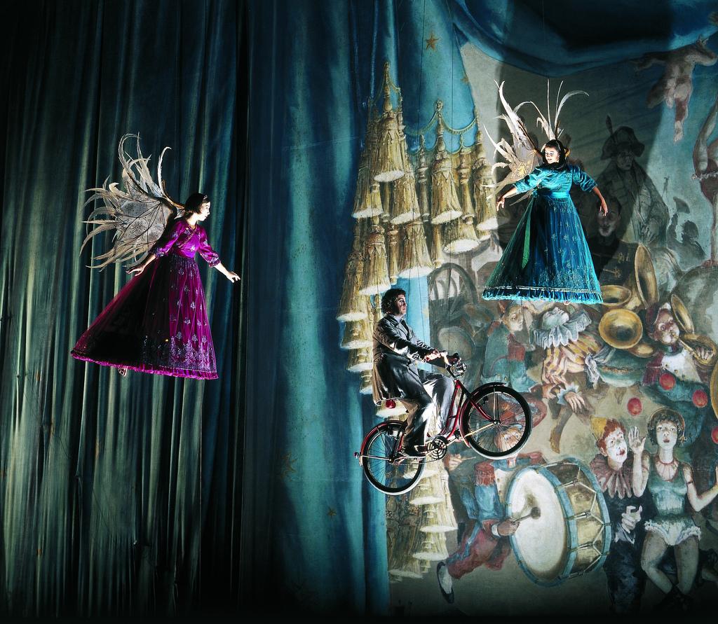 Espetáculo Corteo, do Cirque du Soleil