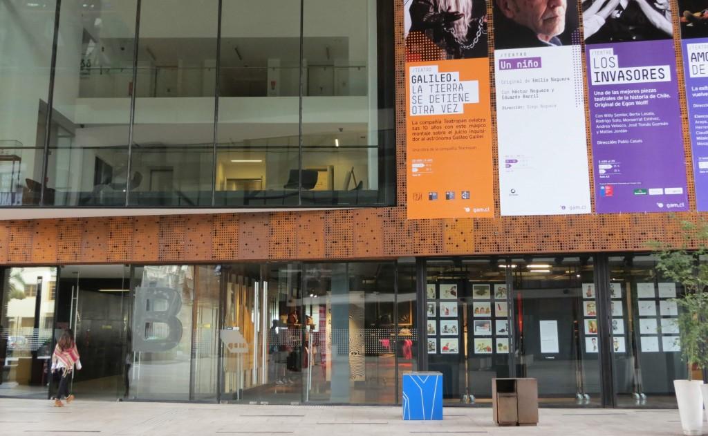 Centro Gabriela Mistral/ Foto: Cris Capuano