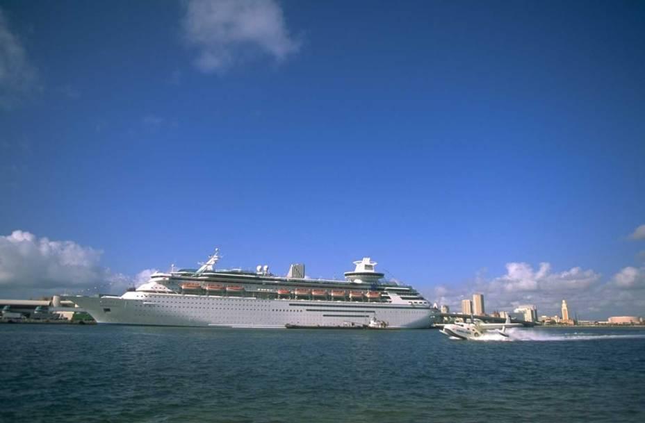 Miami também é ponto de partida para quem sai da região a bordo de cruzeiros pelo Caribe