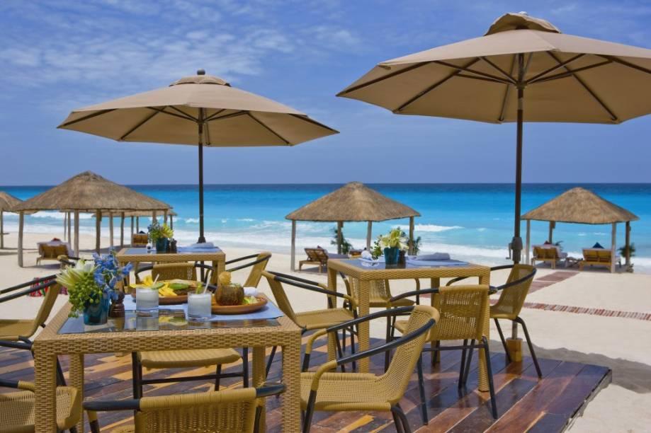 Beach Club do Ritz-Carlton de Cancún, México