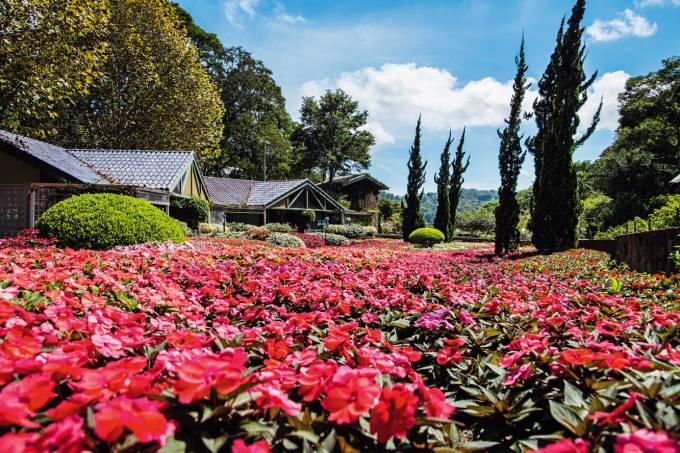 Dá pra sentir até o cheiro do Unique Garden, em Mairiporã / Guilherme Calissi