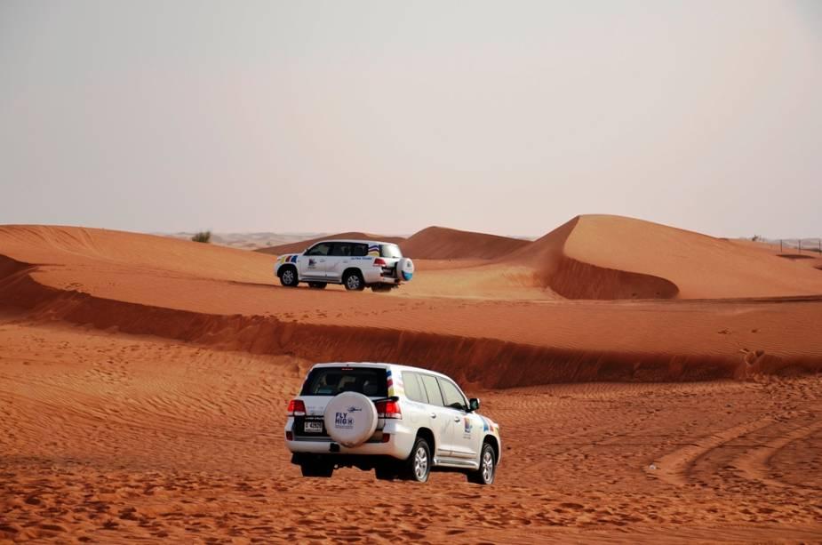 """Safári no deserto de Al Maha, <a href=""""http://viajeaqui.abril.com.br/cidades/emirados-arabes-unidos-dubai"""" rel=""""Dubai"""" target=""""_blank"""">Dubai</a>"""