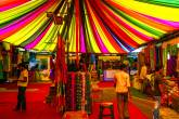 01ATNQNZ - India, New Delhi, Dilli Haat is a wide range of craft shops of all states of India