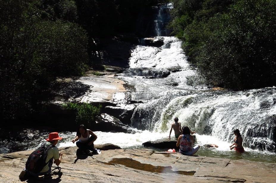 A Cachoeira dos Luís e seus 30 metros / Divulgação