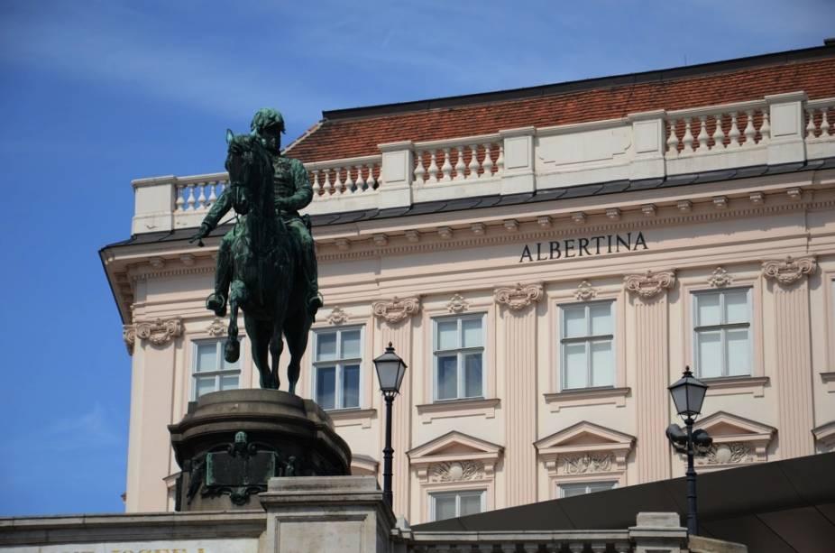 O Museu Albertina possui um vasto acervo impressionistas, além de várias obras de mestres dos séculos 16 e 17. Além disso, abriga aposentos ricamente decorados da época que o edifício serviu como residência do duque Albert