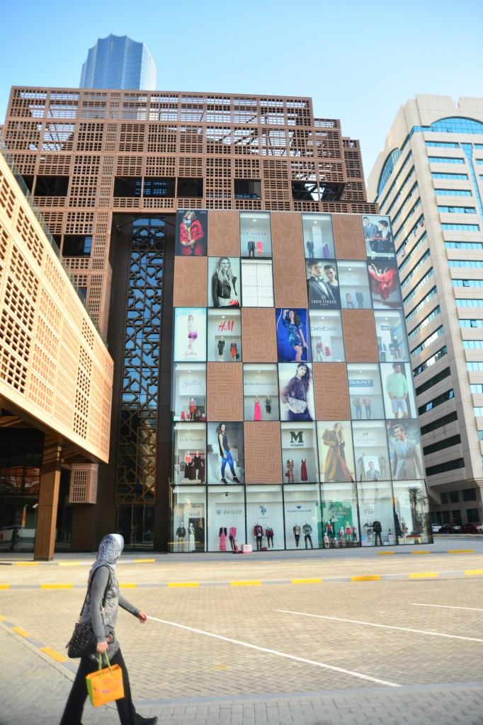 O prédio lindo do WTC Mall