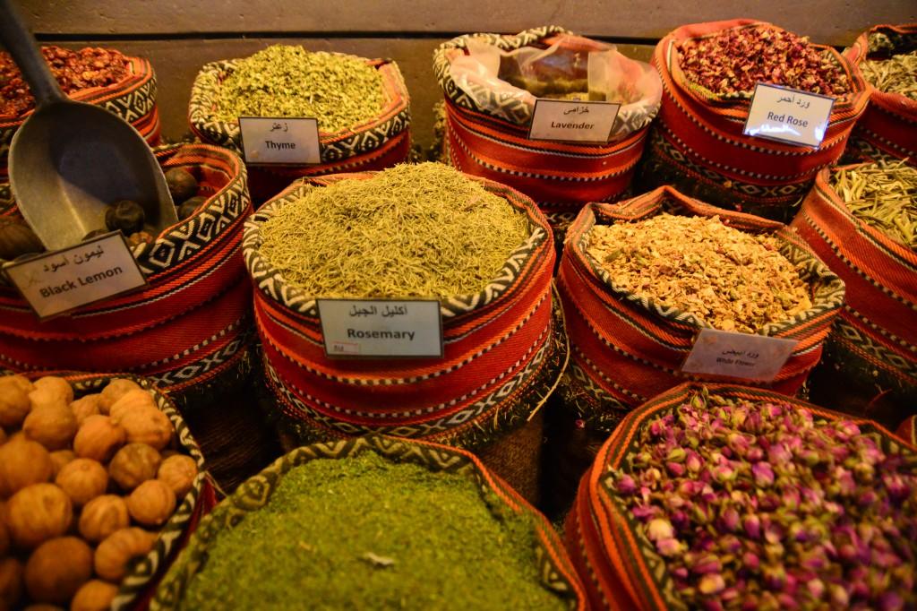 Especiarias árabes