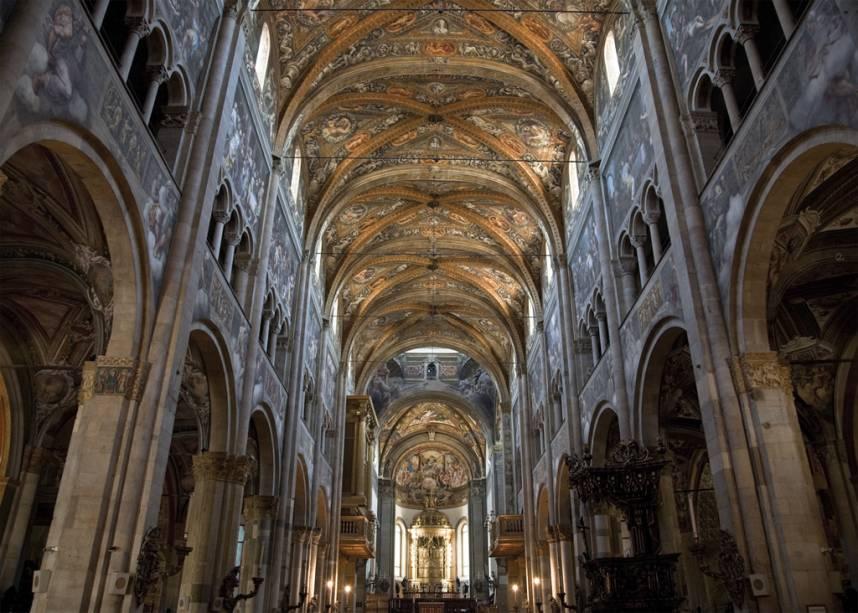 Duomo em Parma, Itália