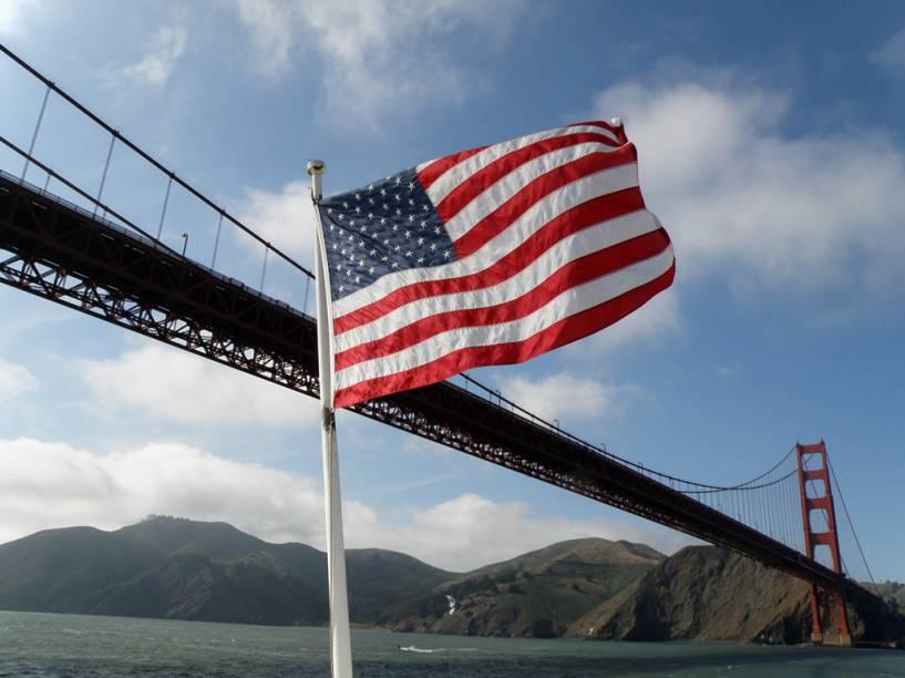 A Golden Gate Bridge era a maior ponte do mundo quando foi inaugurada, em 1937