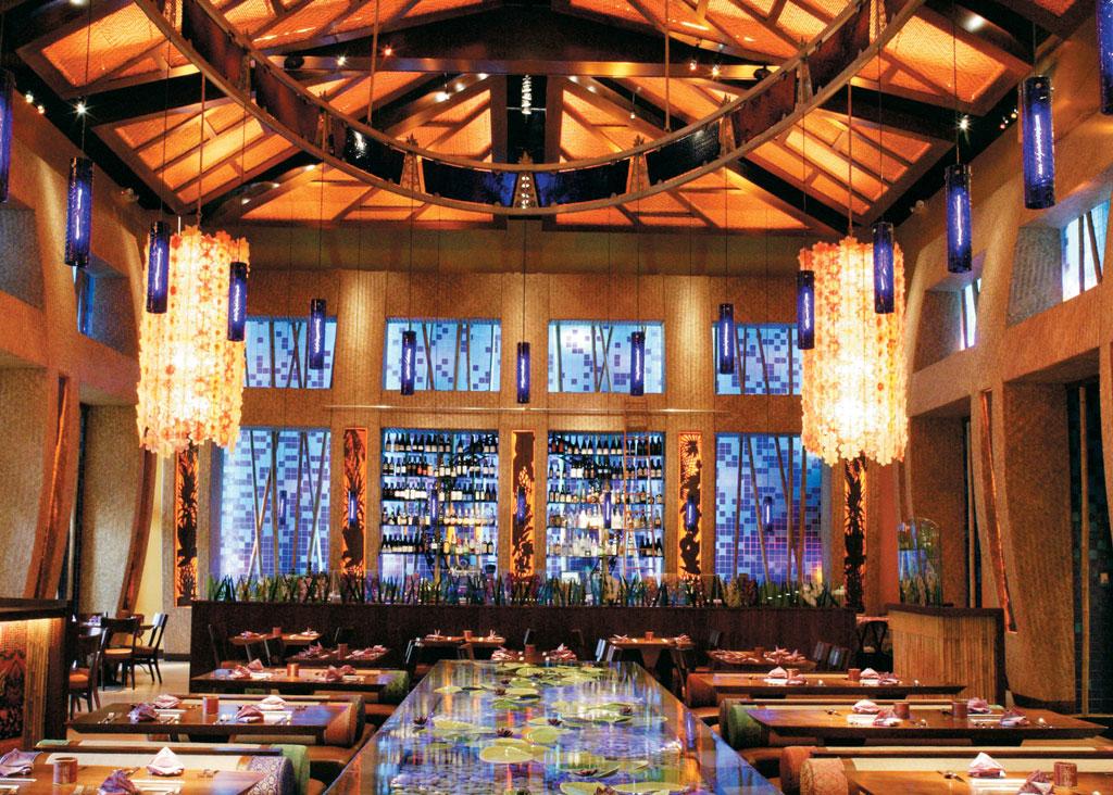 Emeril's Tchoup Chop, restaurante do Royal Pacific Resort, na Universal de Orlando