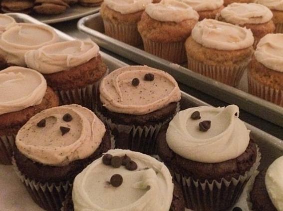 Cupcakes da Erin McKenna's Bakery NYC (Foto: Reprodução | Instagram | erinmckennasbakery)