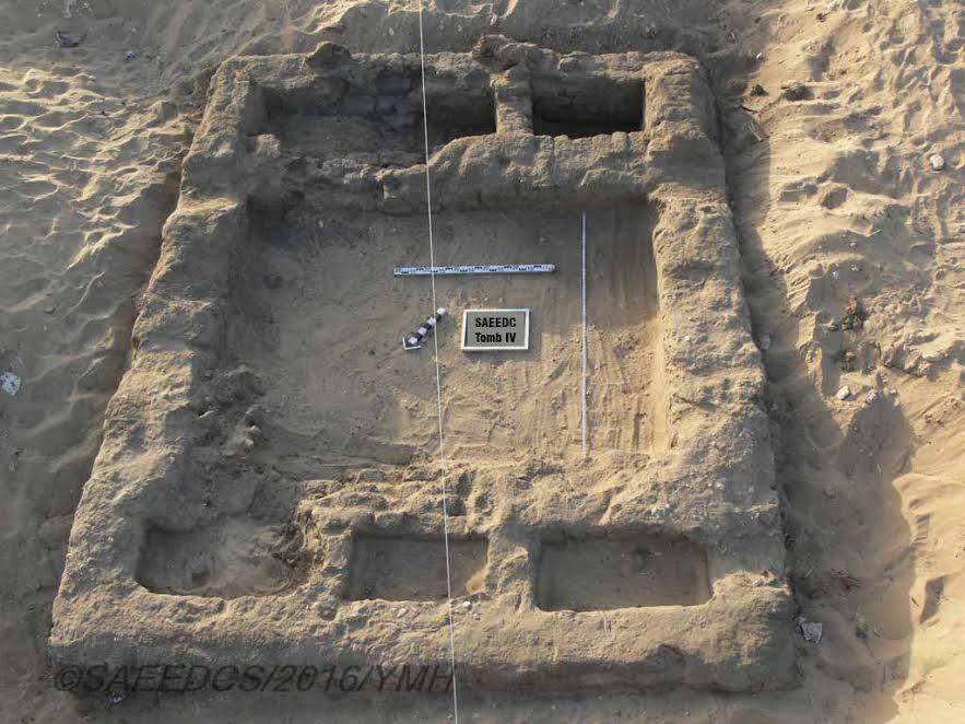 As tumbas descobertas devem fornecer importantes dados para pesquisas futuras (foto: Ministry of Antiquities/Facebook)
