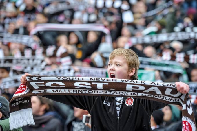 Estádio-St-Pauli-em-Hamburgo,-Alemanha