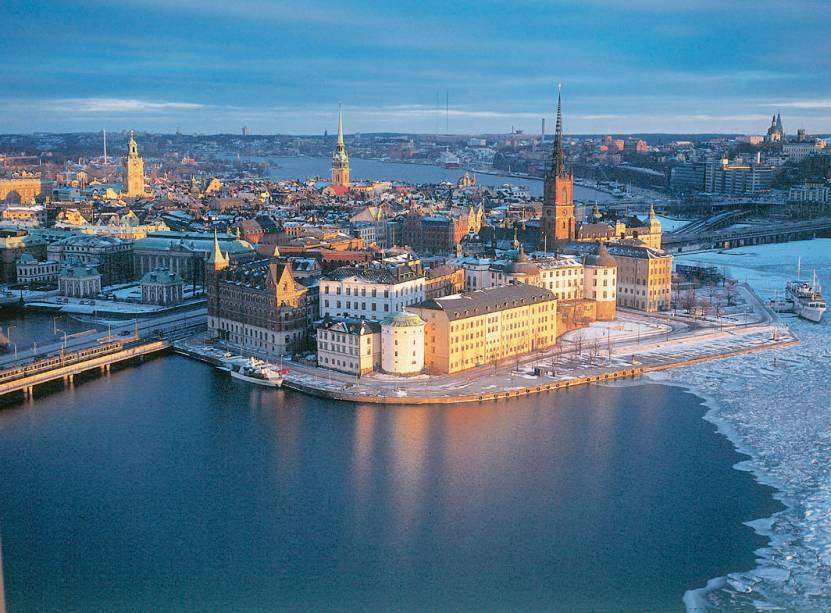 Estocolmo, na Suécia, tem atrações ao ar livre, como o Water festival
