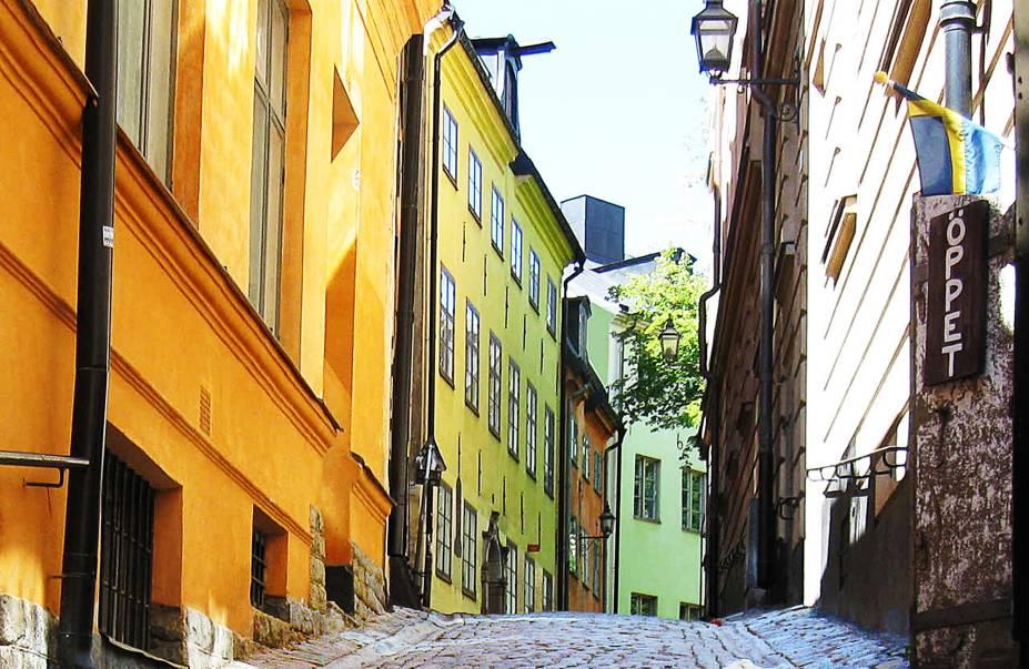 Rua no Gamla Stan.