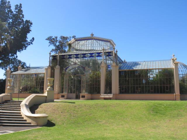 Estufa lindona no Jardim Botânico