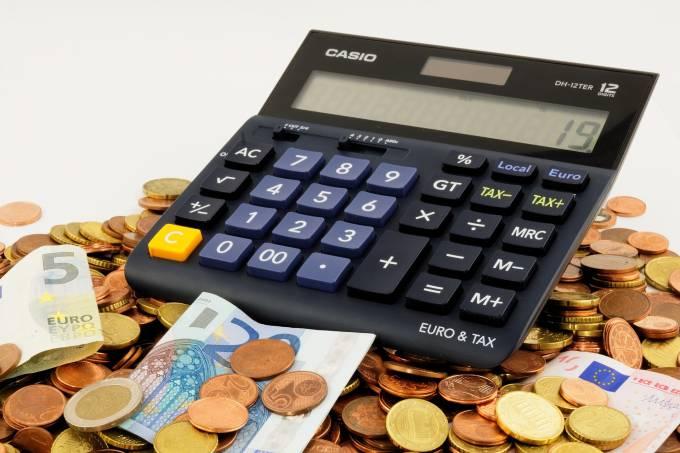 Calculadora moedas dinheiro