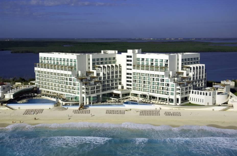 Exterior do Sun Palace Resort, Cancún, México