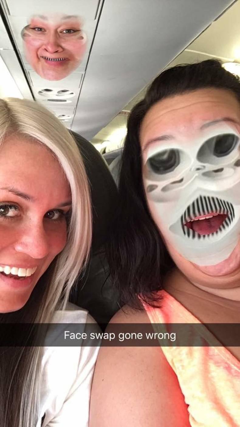 face swap duas mulheres