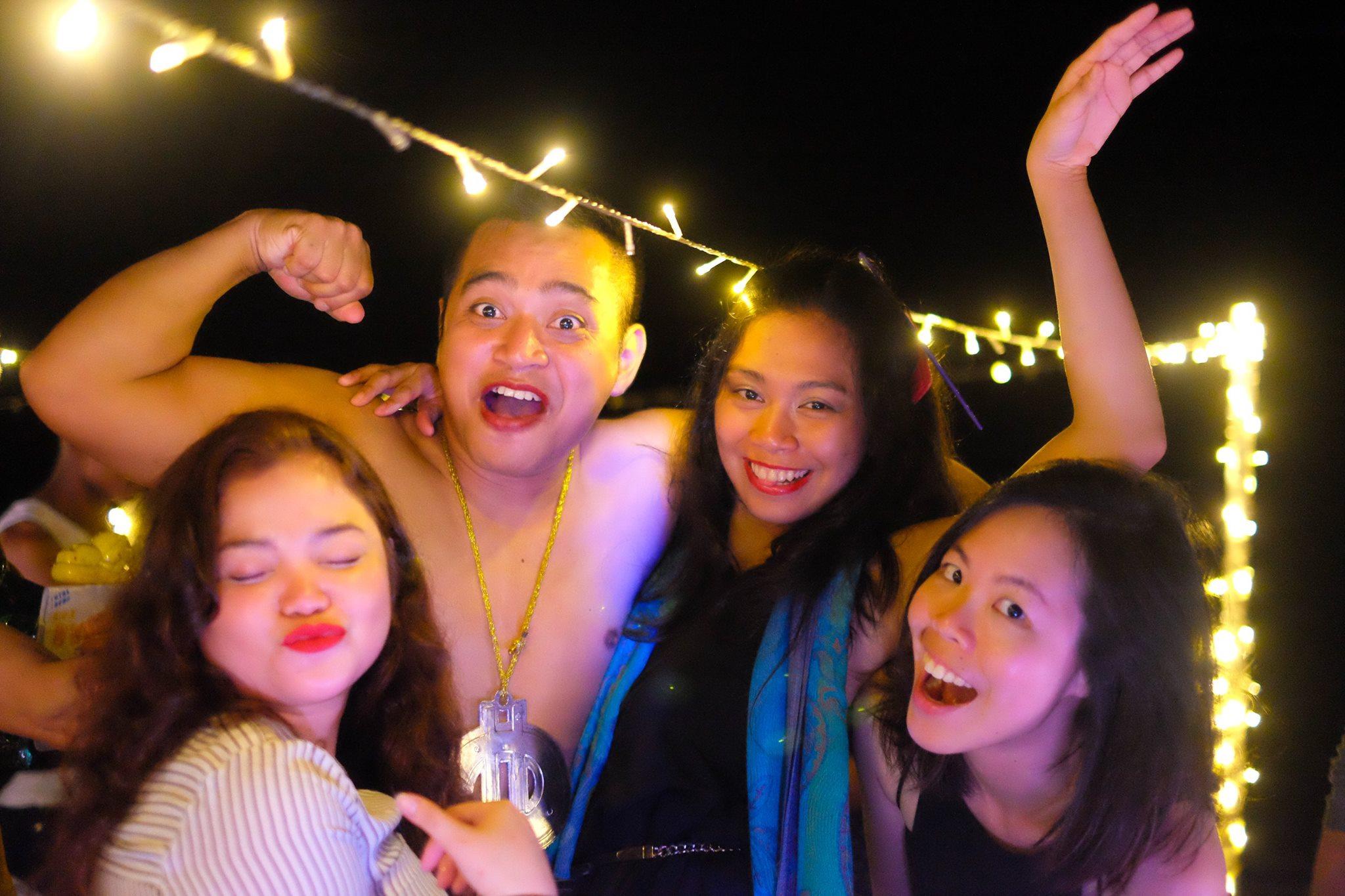 Isso sim, é festa da firma! (foto: reprodução/Evolve MMA)