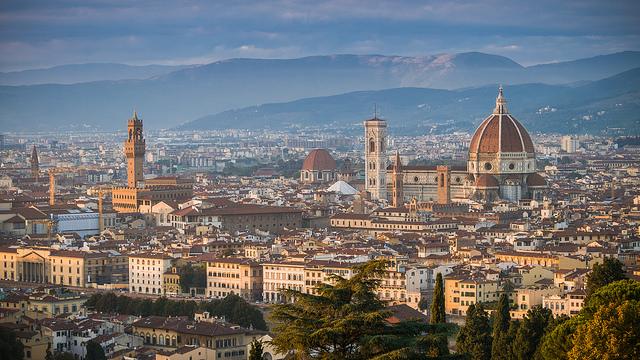 Nada mal passar a lua de mel na Toscana, não é? Foto: Seth M.