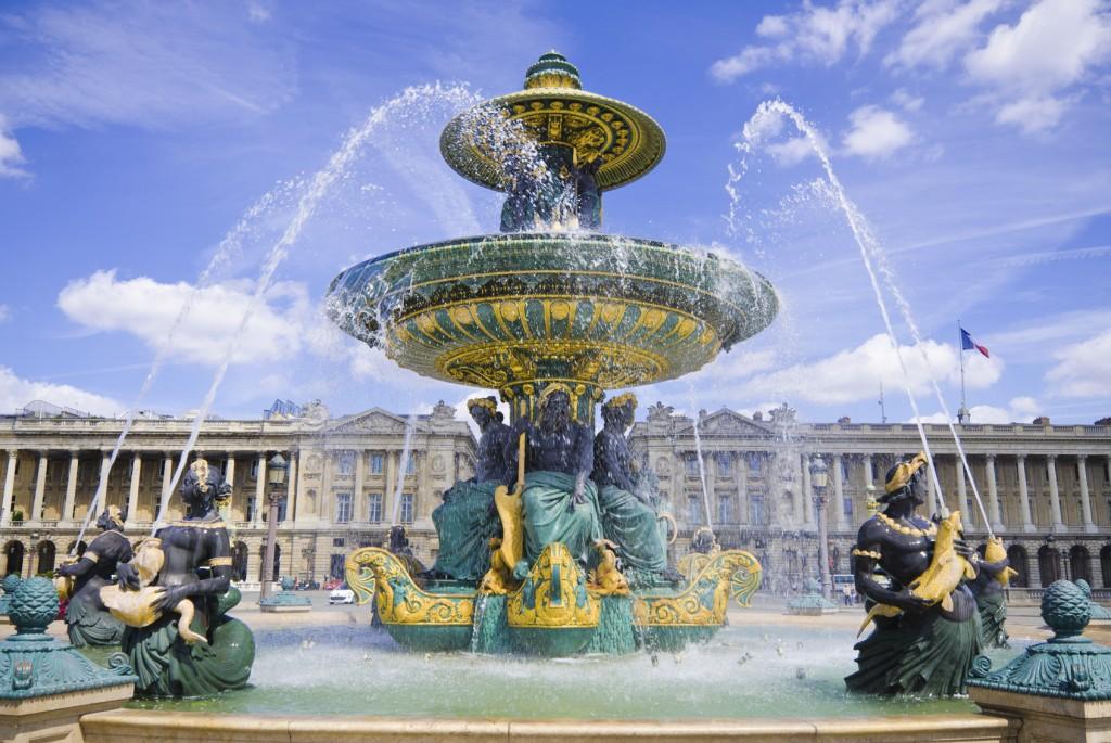 A famosa Fonte des Mers na Praça da Concórdia (foto: iStock)