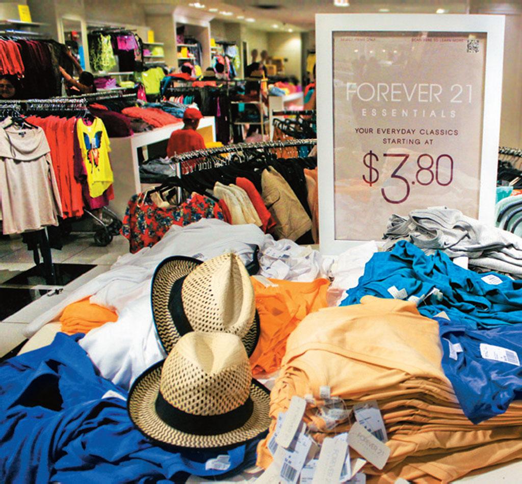 Forever 21, loja de moda jovem