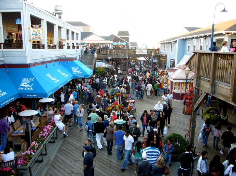 Pier 39, Fishermans Wharf, San Francisco, Estados Unidos