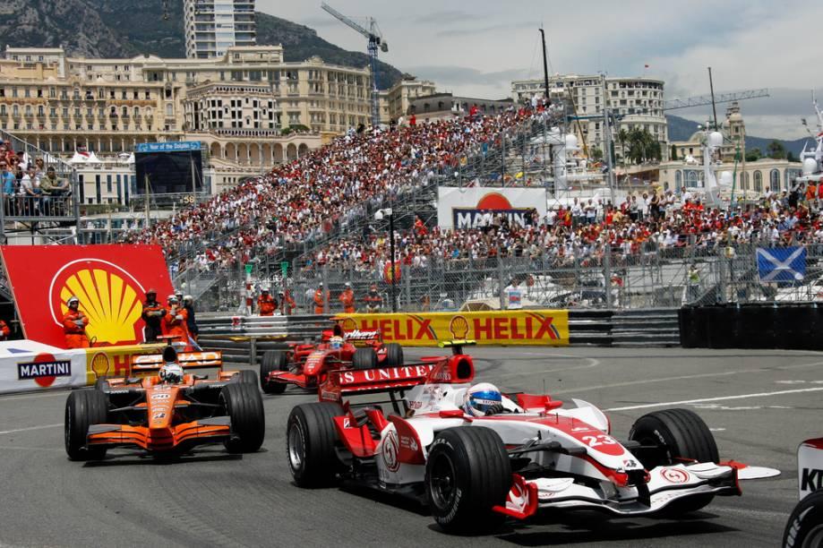 O GP de Mônaco é um dos mais aguardados do circuito da Fórmula 1